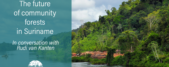 The future of community forests in Suriname  - In conversation with Rudi van Kanten
